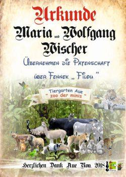18 11 12 Maria und Wolfgang Wischer Fennek Filou 70