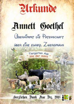18 12 01 Annett Göthel Zwergmaus 50 €