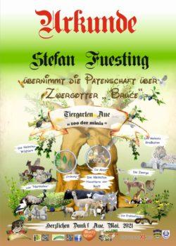 Stefan Füsting Pate Zwergotter Bruce